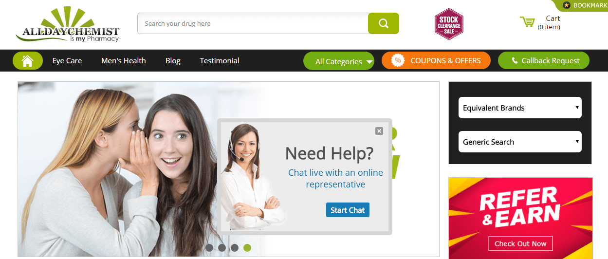 All Day Chemist - An Online Pharmacy With Great Customer Reviews from a Third-Party Website