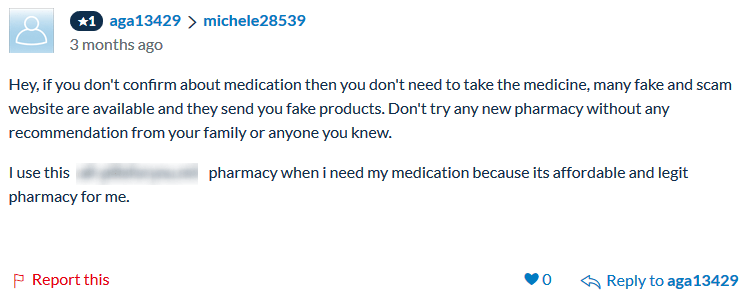 Forum Comments on Tramadol Online No Prescription