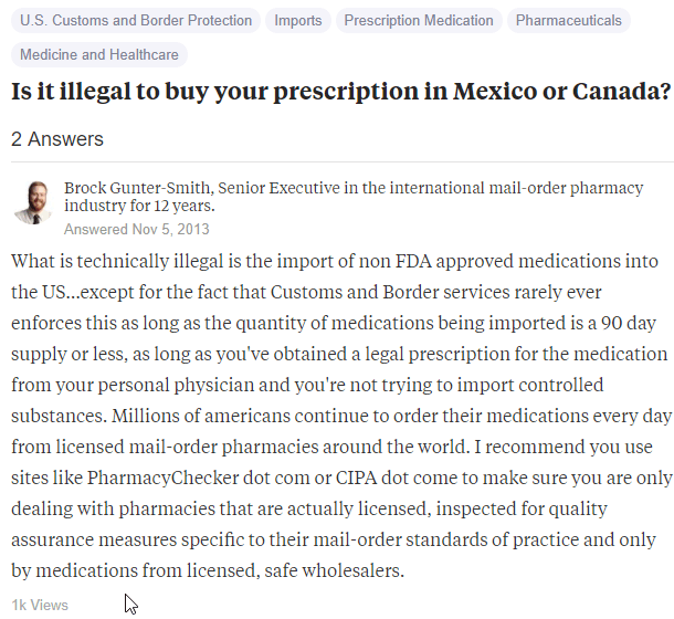 Purchasing Drugs in Mexico Legally