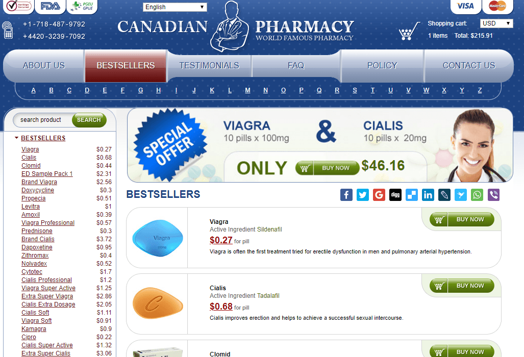 Online Pills, Canadian Reliable Pharmacy