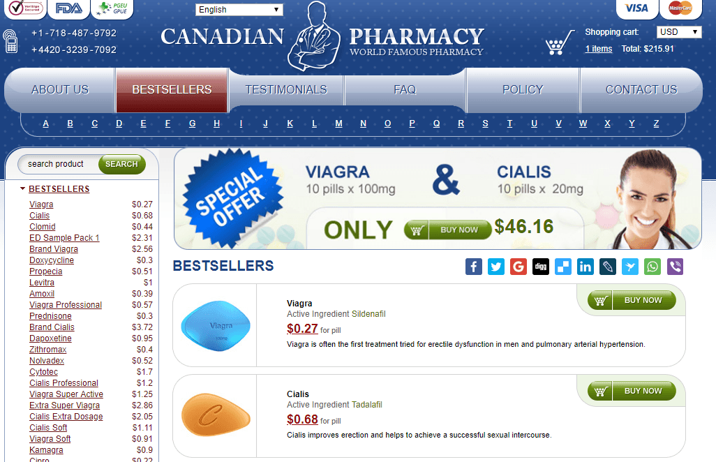 Online Pills, Trusted Pharmacy in Canada