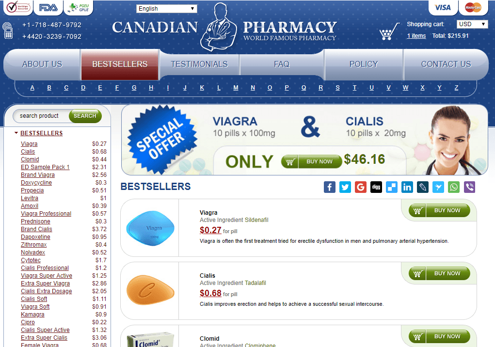 Online Pills, 24 Hour Canadian Pharmacy