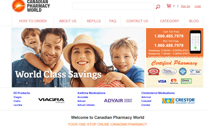 Canadian Pharmacy World Reviews
