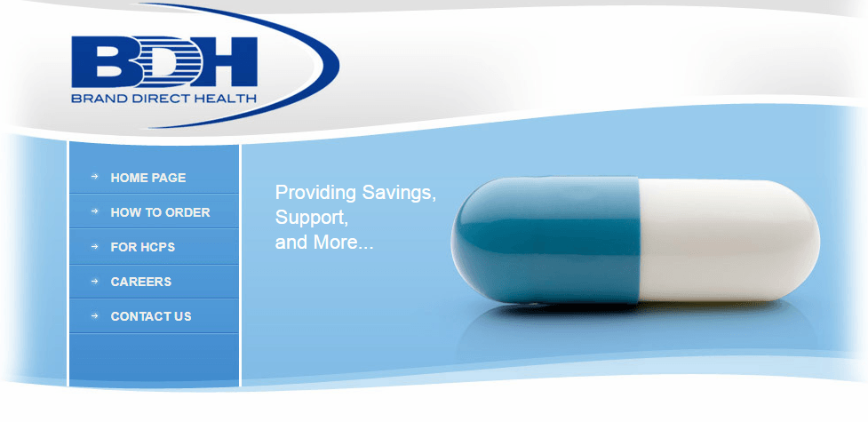 Brand Direct Health Homepage