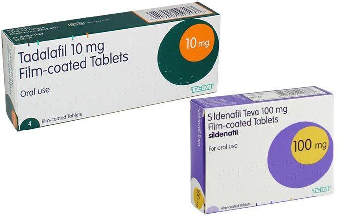 Tadalafil And Sildenafil