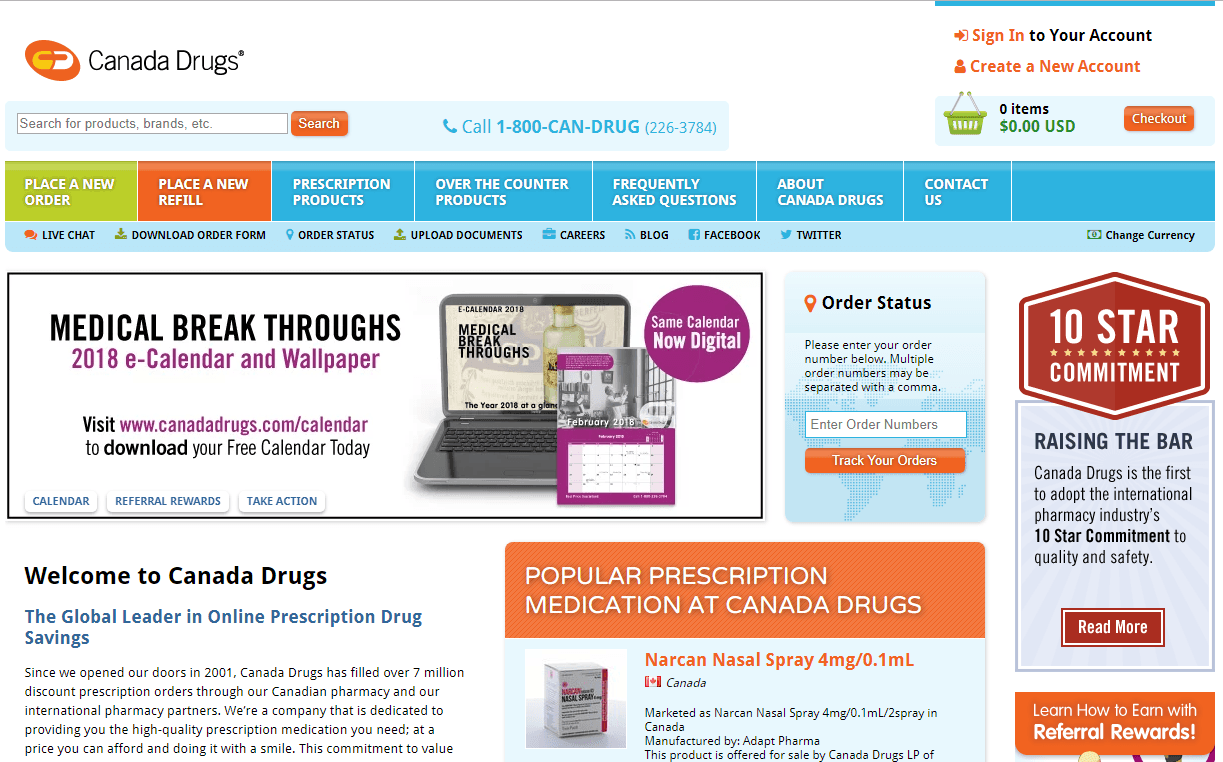 Canada Drugs Online Reviews