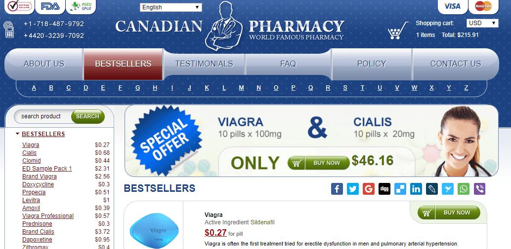 Online Pills, Cheap Canadian Pharmacy